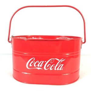Coca-Cola bucket for bottles